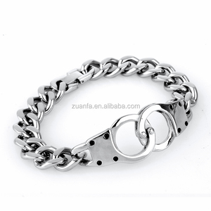 wholesale latest fashion men bracelet lobster clap 316l stainless steel bracelet
