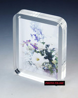 4x6, 5x7 wholesale custom acrylic photo frame