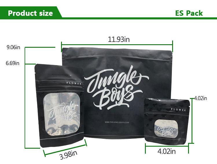 無料サンプル喫煙アクセサリー雑草ジップロックバッグジャングル男の子包装