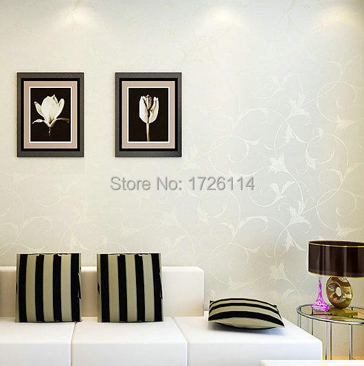 minimalistischen helle blume tapeten f r wohnzimmer schlafzimmer arbeitszimmer 3d wand blumen. Black Bedroom Furniture Sets. Home Design Ideas