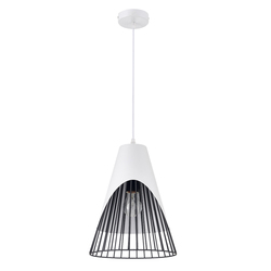 Modern simple black white chandelier pendant light for home decoration