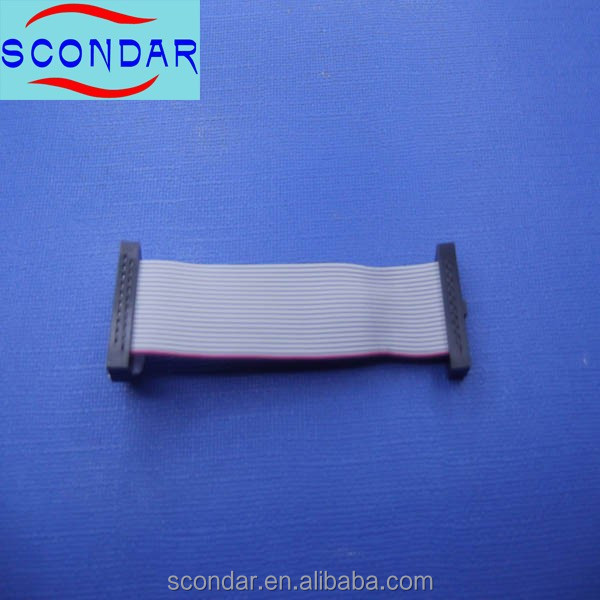 IDC 2.54mm ffc grey ribbon Cable for pcb and connector