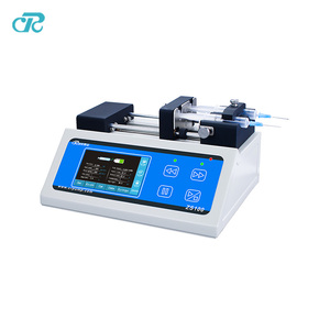 Updated Dual Channels Injection System High Precision Syringe Pump