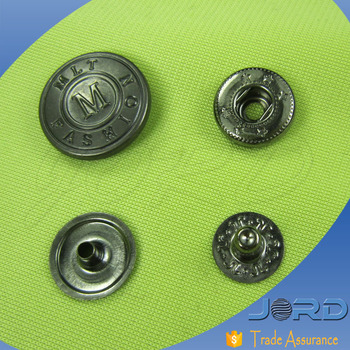 Newest Design Fashion Snap Fasteners Trouser Hooks Metal Pants Button - Buy  Snap Fastener Four Part Press Button,Snap Button For Kids Wear,Ring Prong
