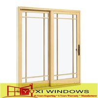 New style European/USA/Australia aluminum windows sliding window aluminum profiles with color customized