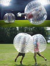 1.2M/1.5M /1.8M Inflatable Bumper Ball Body Zorbing PVC Ball Zorb Bubble Soccer/Football