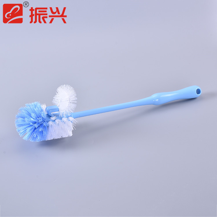Multi color household cleaning supplies pp plastic long handle cleaning brush cheap toilet brush