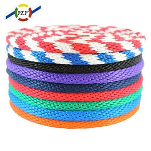 automatic polyester rope braided cord pp 10mm