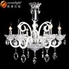 Fancy Glass Chandelier Glass Arms Light Antique Candle Chandelier OM8626