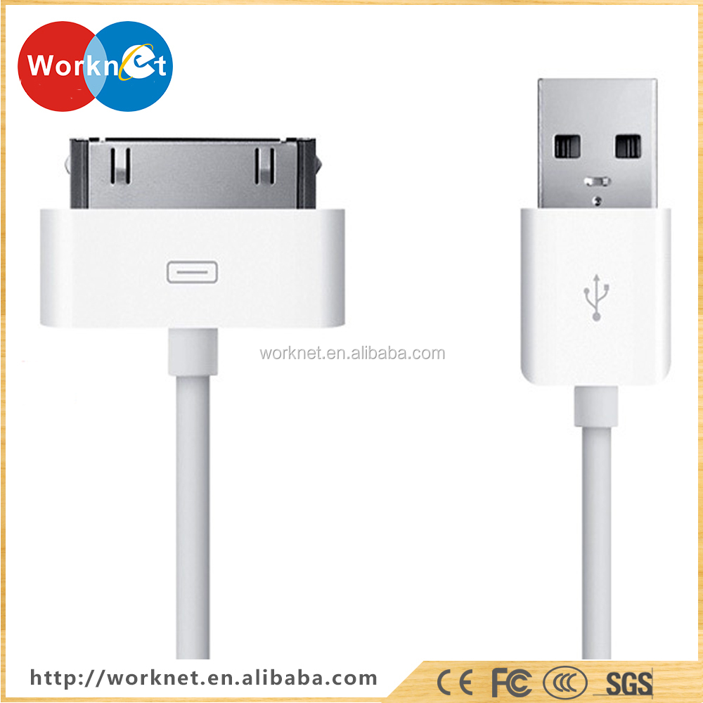 High quality new 2017 30 pin USB data sync charging charger cable cord for iPhone/iPad/iPod