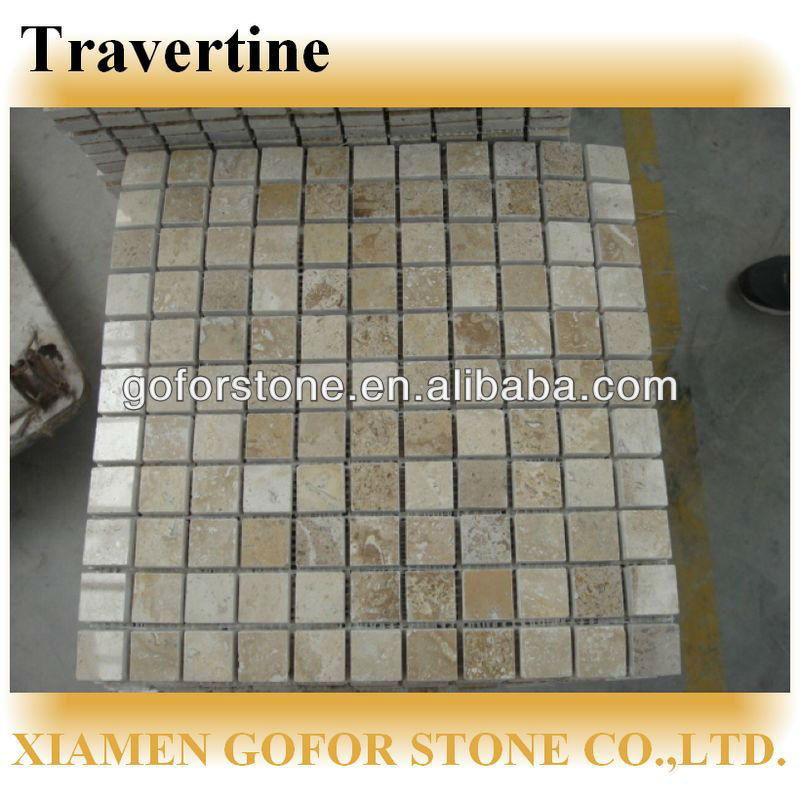 Chinese travertine mosaic