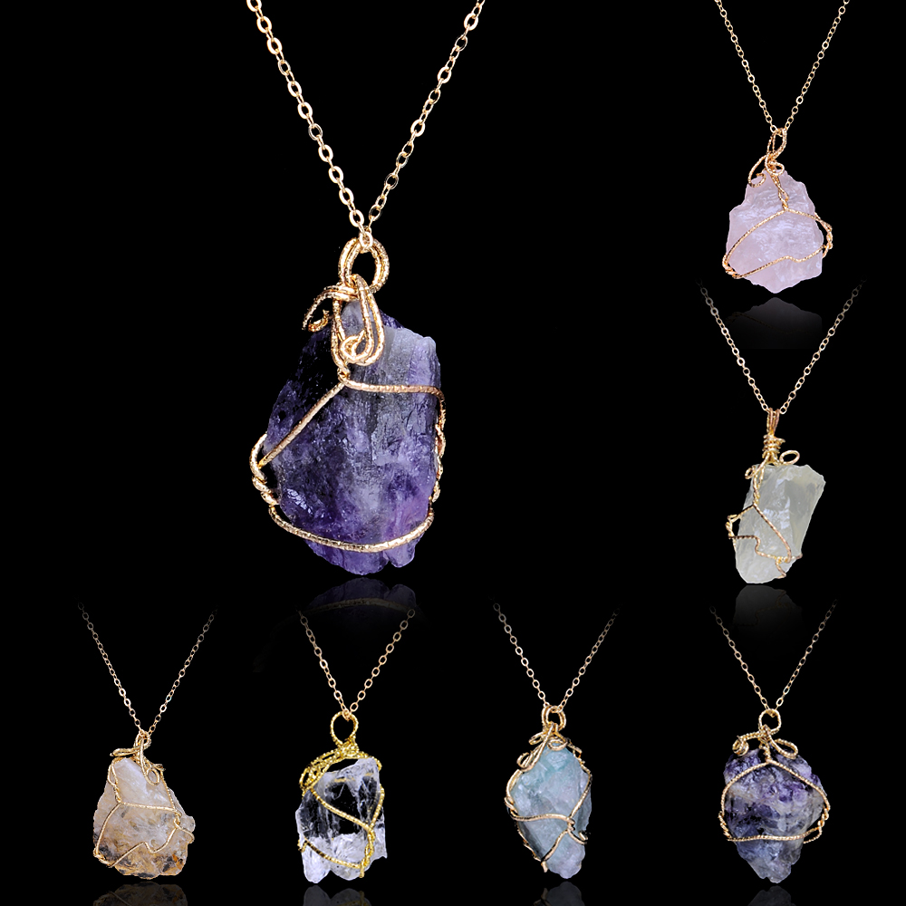 Natural Crystals For Jewelry Making