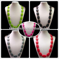 Necklaces Wholesale/Jewelry Making Supplies/Silicon Cheap Costume Jewellery