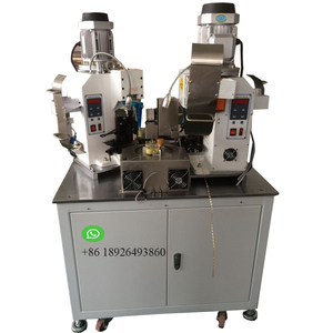 Automatic splice terminal double crimping machine