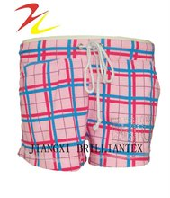2012 new style fashionable printed ladies shorts