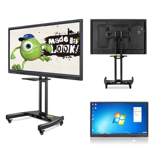China Manufacturer smart touch screen lcd interactive whiteboard for school