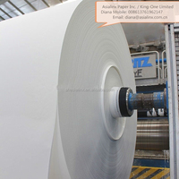 Pure White Toilet tissue grade conversion of toilet paper procure jumbo reels to toilet paper manufacturing company in Nigeria