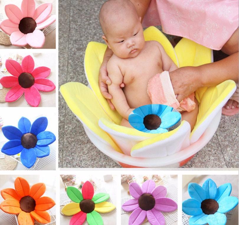 Baby Bath Baby Bath Petal Lotus Pad Baby Bath Folding Neonatal ...