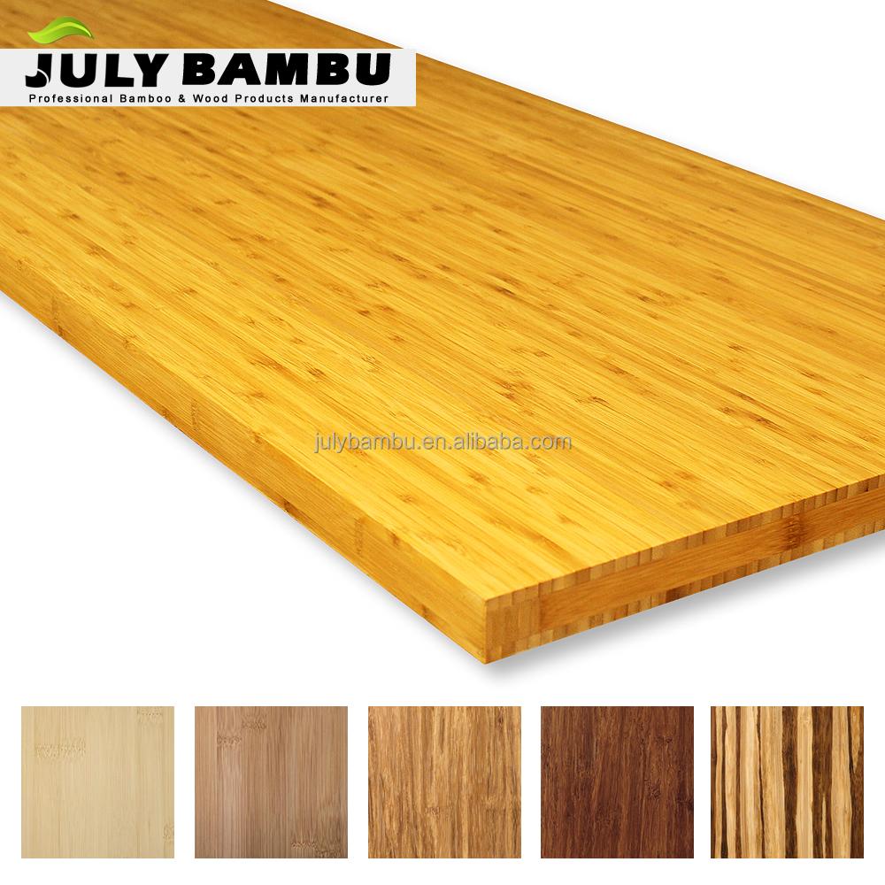 Unfinished Bamboo Wood Blocks Laminated
