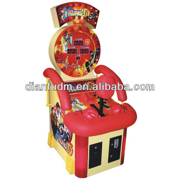 China Kong Fu Boxing game machine DF-R214