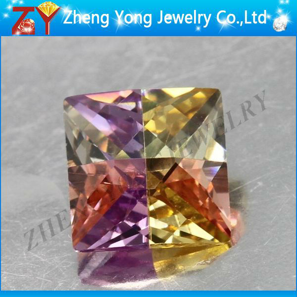 Multi-color gemstone/Assorted colors cubic zirconia