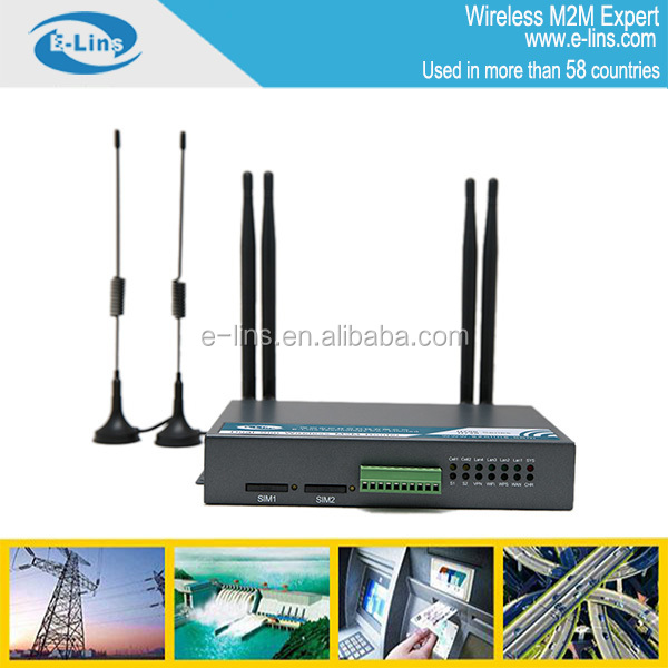 H700 unlock Hsdpa router with VPN PPTP L2TP