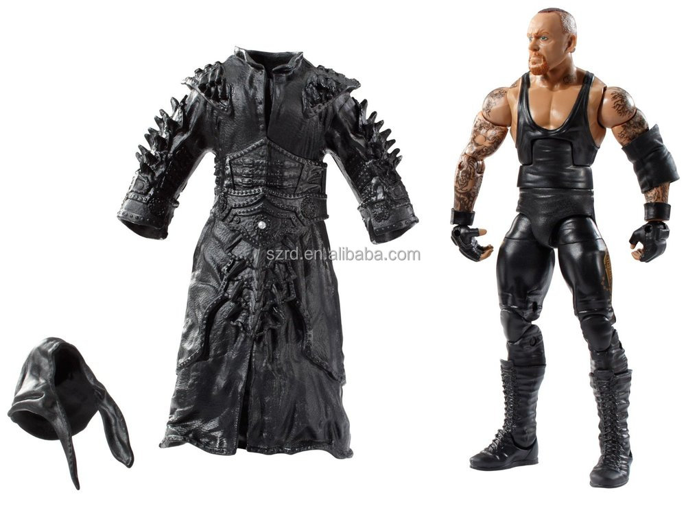 vivid American wrestling star action figures/wrestling articulated figure model toy/oem making action figure model toy