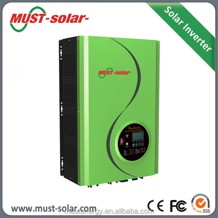 Low Frequency Pure Sine Wave Off Grid 8000w Inversor Solar with 120A MPPT Inside