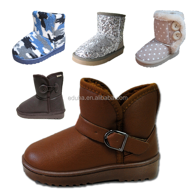 2017 hot sale kids boots wholesale snow boots for boys