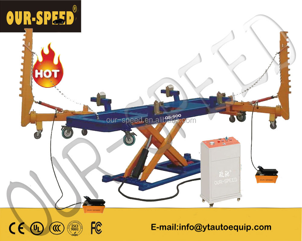 OUR-SPEED OS-600 chassis straightener car frame straightening machine