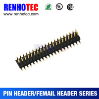 Double Row Male 2.0mm Pitch 20 Pin SMT Type Pin Header