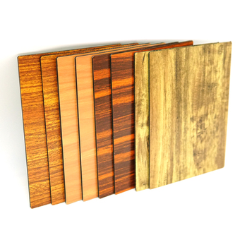 3mm PE Coated Surface Treatment Wooden Grain Color Aluminum Composite Panel