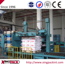 Automatic bag palletizer stacking machine packing machine