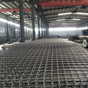 Galvanized 6x6 steel concrete reinforcing rebar welded wire mesh ...