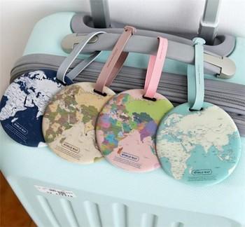 2017 new design custom world map soft pvc luggage tag buy luggage 2017 new design custom world map soft pvc luggage tag gumiabroncs Gallery
