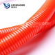 Leinuoer Orange Flame proof PA6 Nylon plastic corrugated flexible conduit pipe RoHS CE