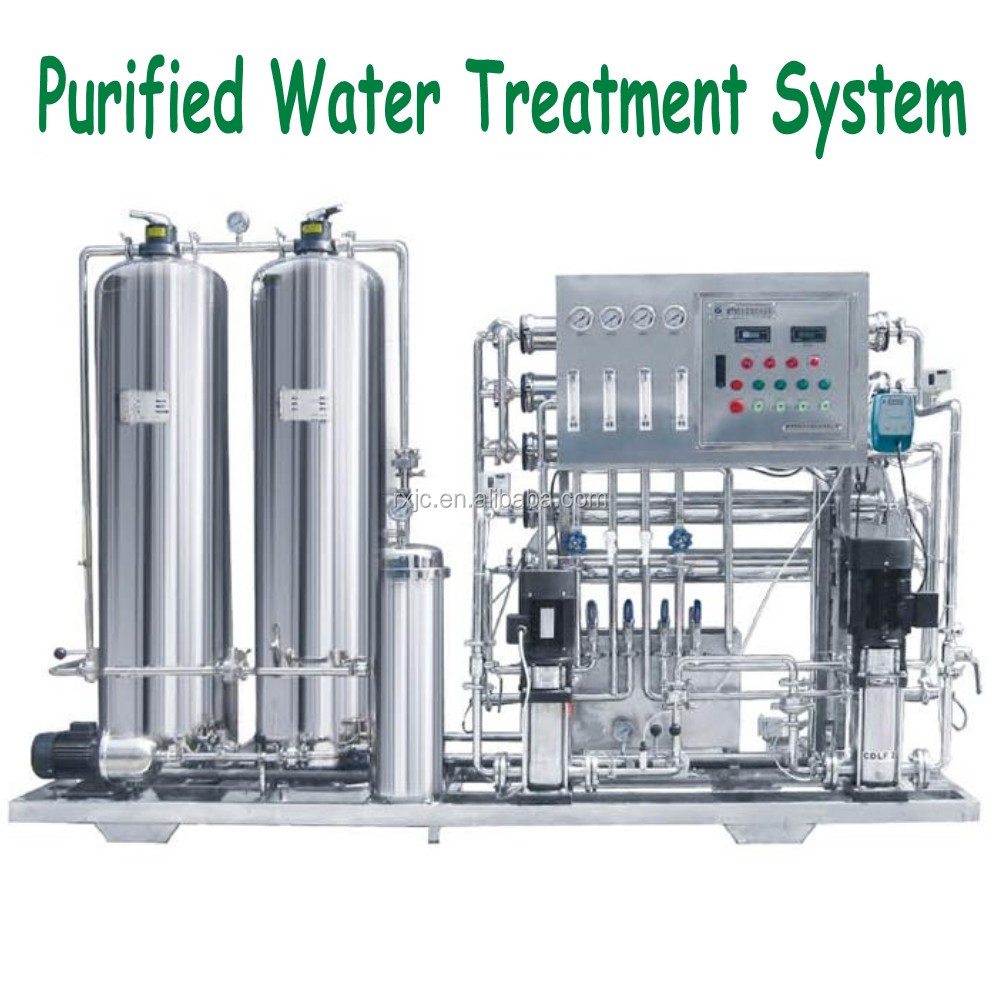 reverse osmosis system purification of water