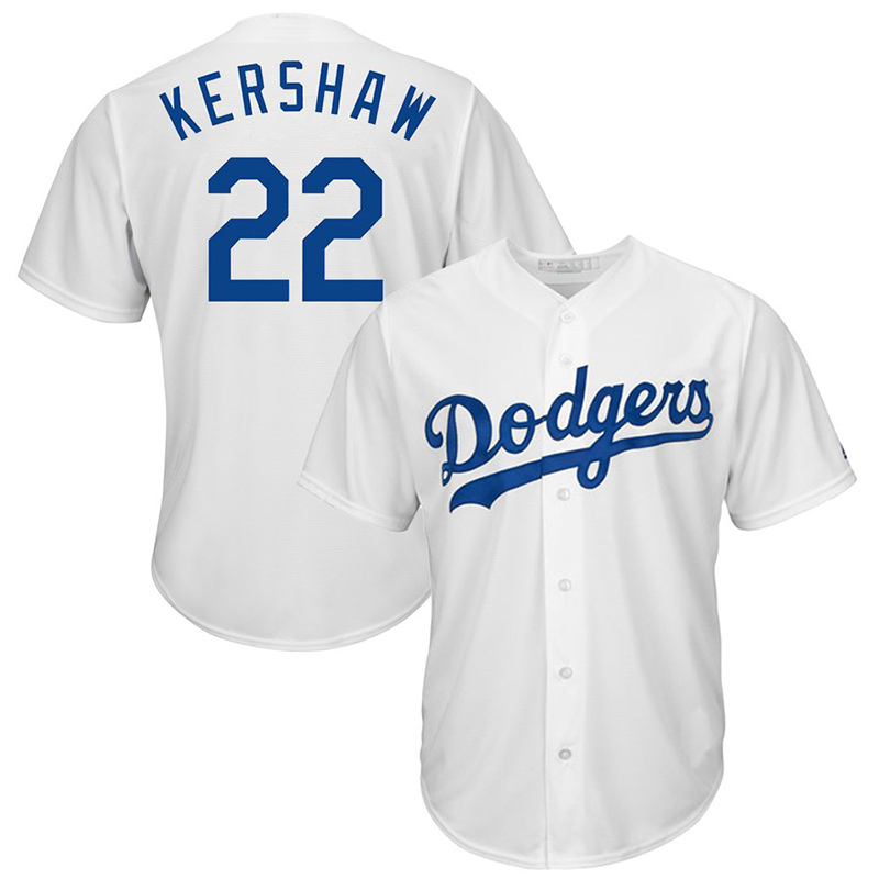 Los Angeles Dodgers 22 Clayton Kershaw 5 Corey Seager 35 Cody Bellinger Embroidery Logos baseball jersey фото