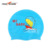 Colorful Customized Logo Available Printed Silicone Children Swim Cap