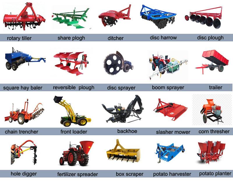 farm machine 15hp 4x2 mini farm tractor agricola price