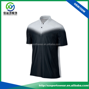 Lasted without stand collar design polo shirt for men