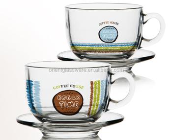 bef1aaaec4 4oz 6oz glass coffee mug with saucer glass coffee cup set clear glass irish coffee  cup