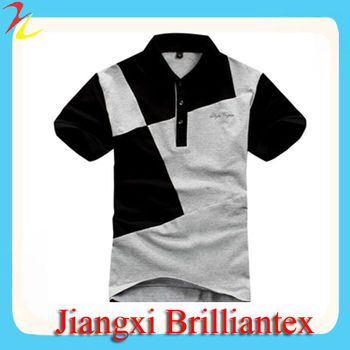 Two Colors Multi Combination Short Sleeve 100 Polyester Promotional Polo shirts