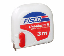 <span class=keywords><strong>Fisco</strong></span> marca 3 m 5 m potenza <span class=keywords><strong>ritorno</strong></span> nastro <span class=keywords><strong>di</strong></span> misurazione con Uni-Matic II