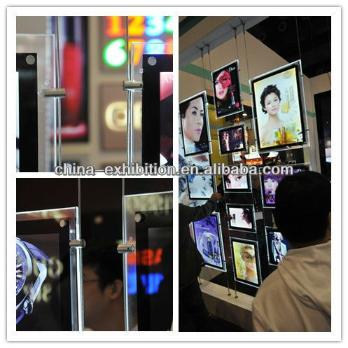 2017 New Stylish advertising light box/real estate agent led window display