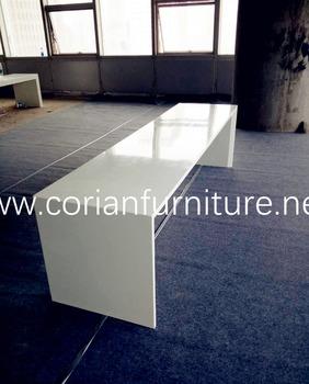 Modern Design Corian Long Bar Table