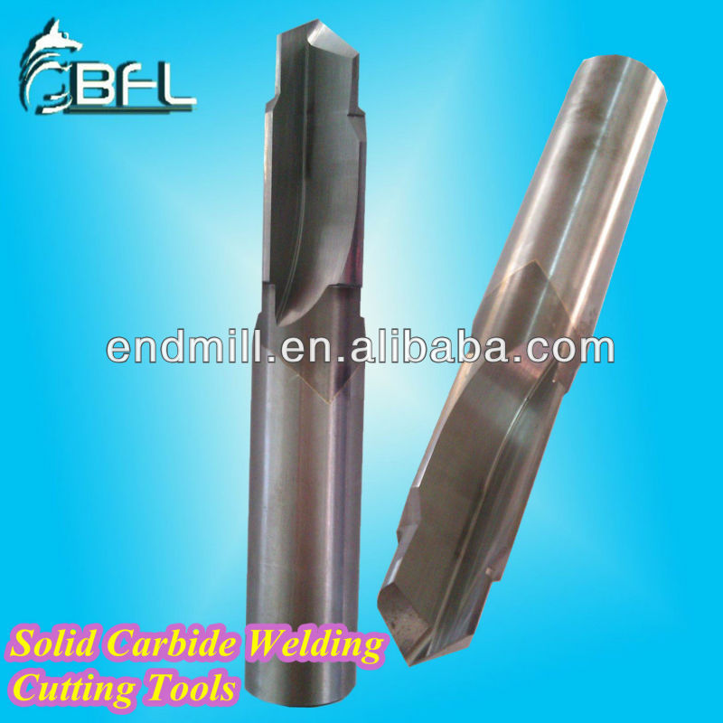 BFL - Tungsten Still Carbide Welding End Mill / CNC Welding Carbide Tool / Special Cutting Tool
