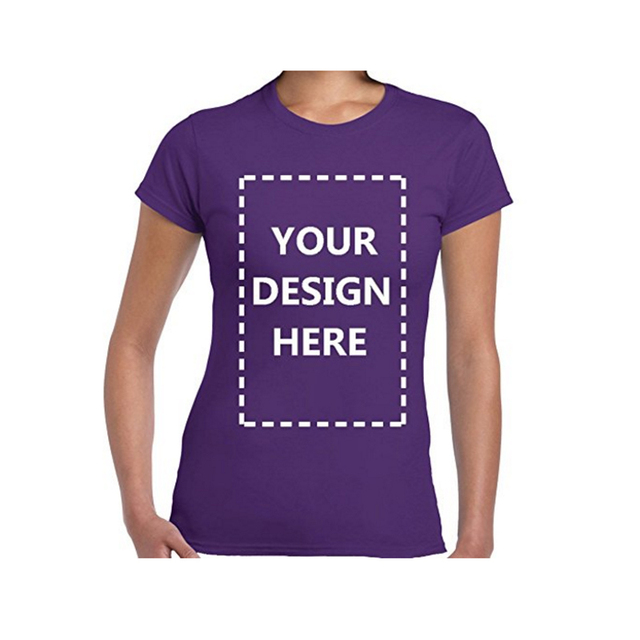 Women Custom Personalized T-shirt With Your Own Design