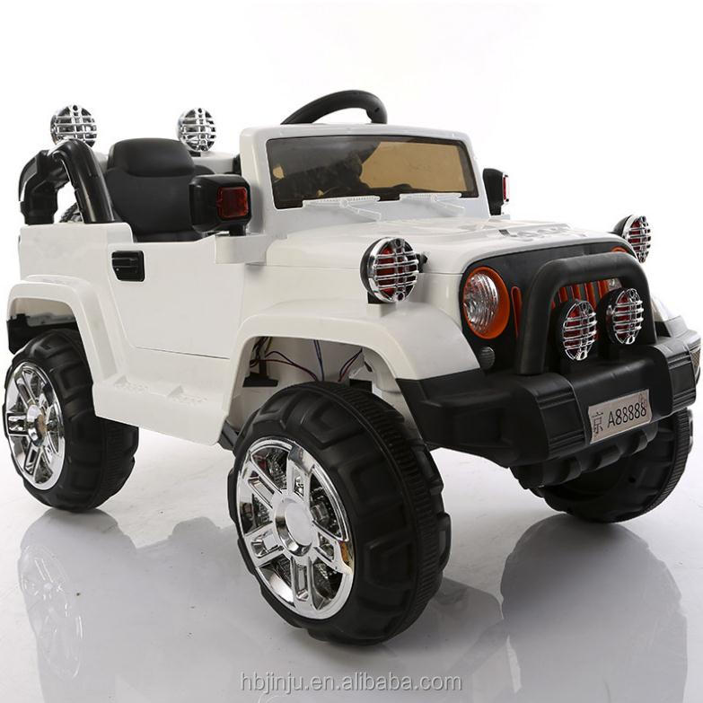 Newest Wrangler Jeep 12V Battery Powered Kids Ride On Car One Big Seat Powerful Wheels Children