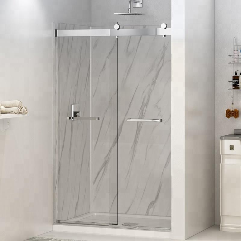 8mm Sliding Glass Corner 3 Sided Shower Doors - Buy Shower Doors ...